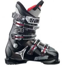 Ботинки горнолыжные ATOMIC B70 Black/Black Transparent
