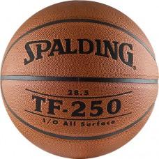 Мяч баскетбольный SPALDING TF-250 ПВХ