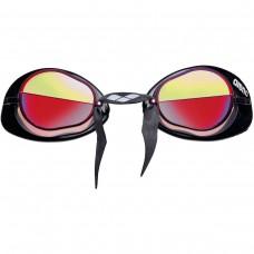 Очки для плавания ARENA Swedix Mirror зеркально-красные линзы регулируемая переносица