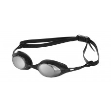 Очки для плавания ARENA Cobra Mirror зеркальные линзы сменная переносится оправа черная