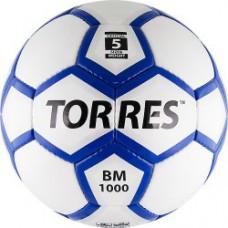 Мяч футбольный TORRES BM 1000 бело-серебристо-синий