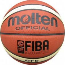 Мяч баскетбольный MOLTEN BGF6 синтетическая кожа