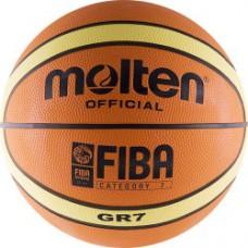 Мяч баскетбольный MOLTEN BGR 7 Fiba резина