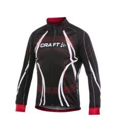 Куртка мужская велосипедная CRAFT PB Tour Winter черно-красный