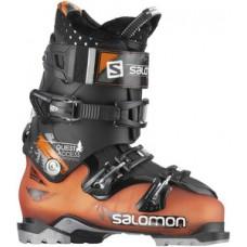 Ботинки горнолыжные SALOMON QUEST ACCESS 80 Orange/Black