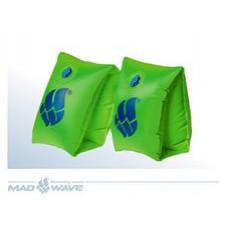 Нарукавники MADWAVE Regular Arm Bands зеленый