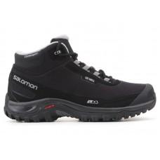 Ботинки SALOMON Shelter CS WP Black/Black/Pewter