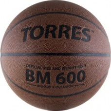 Мяч баскетбольный TORRES BM600 резина