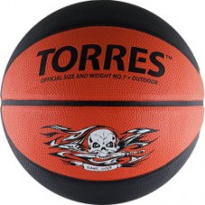 Мяч баскетбольный TORRES Game Over резина