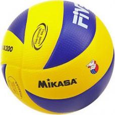 Мяч волейбольный MIKASA MVA200 FIVB сине-желтый