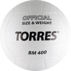 Мяч волейбольный TORRES BM400 бело-черный