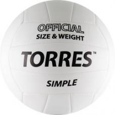 Мяч волейбольный TORRES Simple