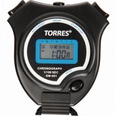 Секундомер TORRES Stopwatch часы будильник дата черно-синий