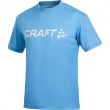 Футболка мужская CRAFT Prime Run Logo ярко-голубой