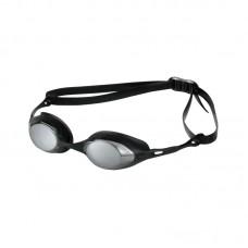 Очки для плавания ARENA Cobra дымчатые линзы сменная переносится оправа черная