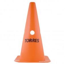 Конус TORRES 38см с отверстиями оранжевый