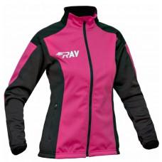 Куртка разминочная RAY розово-черный