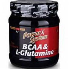 Комплекс аминокислотный POWER SYSTEM BCAA&L-Glutamine 450гр кола