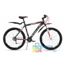 Велосипед STARK Indy 2016 черный/красный