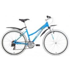 Велосипед STARK Chaser Lady 2015 голубо/желтый