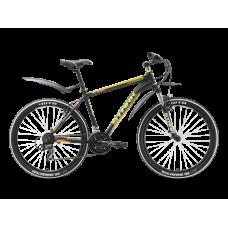 Велосипед STARK Chaser 2016 черный/зеленый