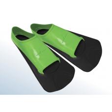Ласты MADWAVE Traning II Rubber зеленый