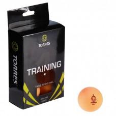 Мяч для настольного тенниса TORRES Training 6шт *