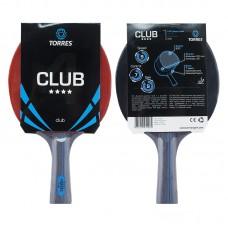 Ракетка для настольного тенниса TORRES Club ****