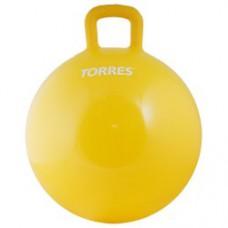 Мяч для фитнеса TORRES 45см с ручками с насосом