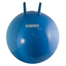 Мяч для фитнеса TORRES 55см с ручками с насосом
