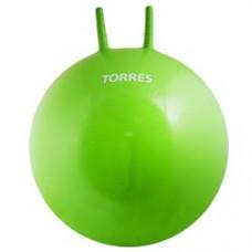 Мяч для фитнеса TORRES 65см с ручками с насосом