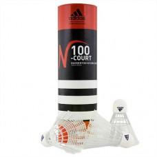 Воланы Adidas N100 6шт белый нейлон