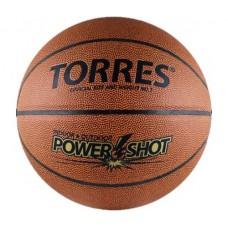 Мяч баскетбольный TORRES Power Shot полиуретан