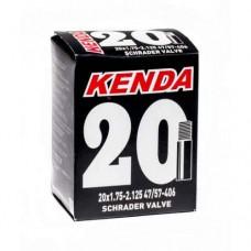 """Камера велосипедная KENDA 20""""x1,75/2,125 2.25мм AV"""