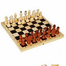 Шахматы лакированые 29*14*3см