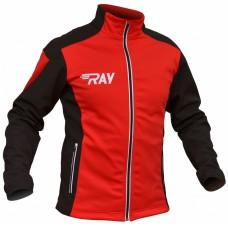 Куртка разминочная RAY красно-черная