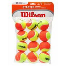 Мяч для большого тенниса WILSON Starter Game 12шт