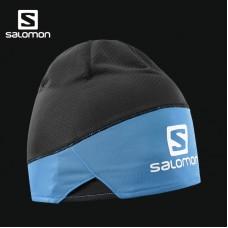 Шапка SALOMON PRO BEANIE Black/Surf