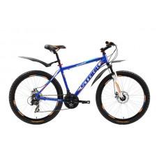 Велосипед STARK Outpost 2016 синий/оранжевый