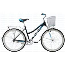 Велосипед STARK Indy Lady Single 2016 черный/голубой