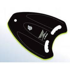 Доска для плавания MADWAVE Upwave 33*39.5см черно-зеленый