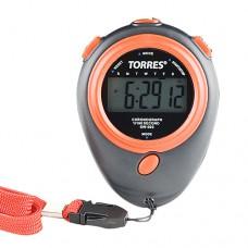 Секундомер TORRES Stopwatch часы будильник дата черно-оранжевый