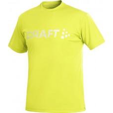 Футболка мужская CRAFT Prime Run Logo желтый