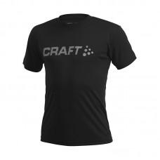 Футболка мужская CRAFT Prime Run Logo черный