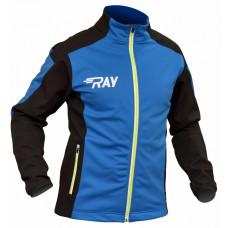 Куртка разминочная RAY сине-черная