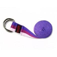 Ремень для йоги FITTOOLS 182см фиолетовый