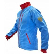 Куртка разминочная RAY триколор синий