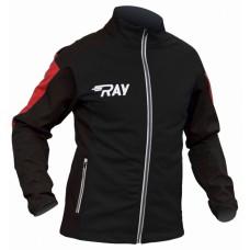 Куртка разминочная RAY PRO RACE черная