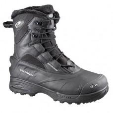 Ботинки SALOMON Tundra Mid WP Black/Black