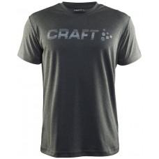 Футболка мужская CRAFT Prime Run Logo серый